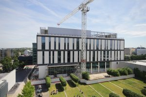 New Project Capella building nearing completion at University of Cambridge