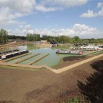 Campbell Wharf Marina open to the public in Milton Keynes.