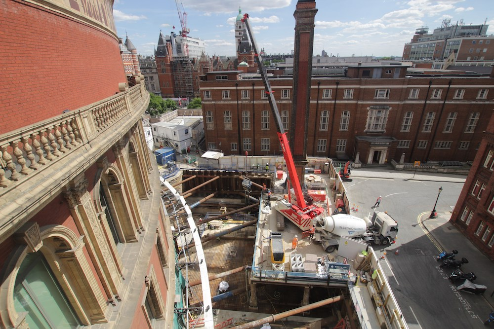 Video reveals 'The Great Excavation' at the Royal Albert Hall